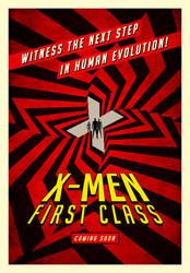 X-Men: First Class poster by drMIERZWIAK