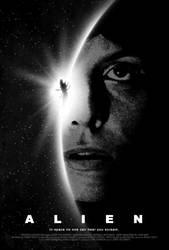 Alien poster by drMIERZWIAK