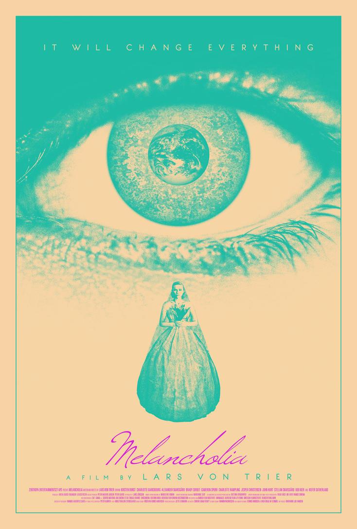 Melancholia poster by drMIERZWIAK