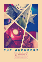 The Avengers poster by drMIERZWIAK