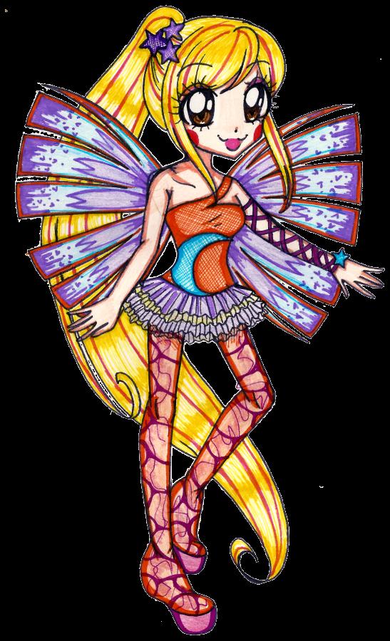 A cute Sirenix fan art I found Stella_s_sirenix_by_suusj_chan-d5mc0ek
