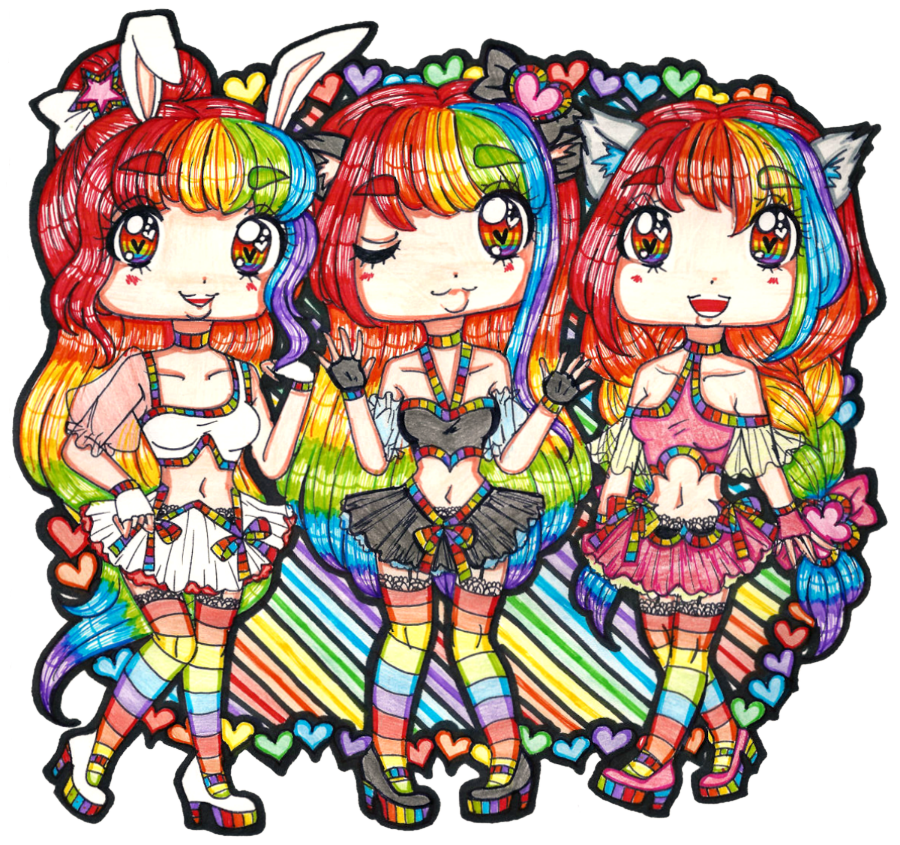 Character Design Opleiding : Sister love contest entry by sekaiichihappy on deviantart