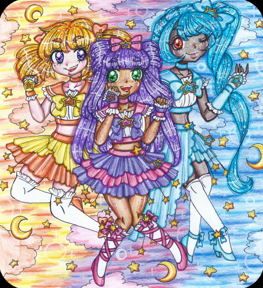 Celestial Pretty Cure! by sekaiichihappy