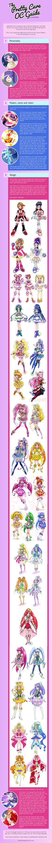 The Pretty Cure OC Guide by sekaiichihappy