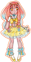 Oceanic Pretty Cure! - Cure Coral by sekaiichihappy