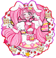 Pretty Cure of Strawberry Shortcake, Cure Whip by sekaiichihappy