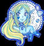 Blue Jewel Sue by sekaiichihappy