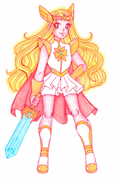 She-ra by sekaiichihappy
