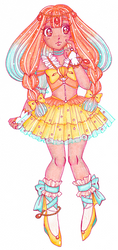 Cure Coral [ OCEANIC PRETTY CURE! ] by sekaiichihappy