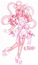 Day 1. Pink [MAGICAL GIRL CHALLENGE]