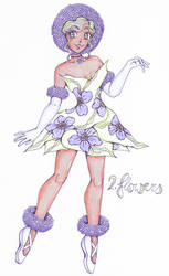 Day 2. Flowers [MAGICAL GIRL CHALLENGE]