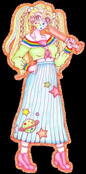 Six Outfits Neona - 1. Sukeban