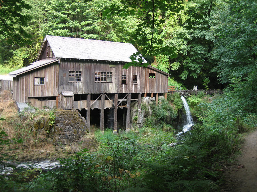 The cedar creek grist mill by danikamilles on deviantart for The cedar mill