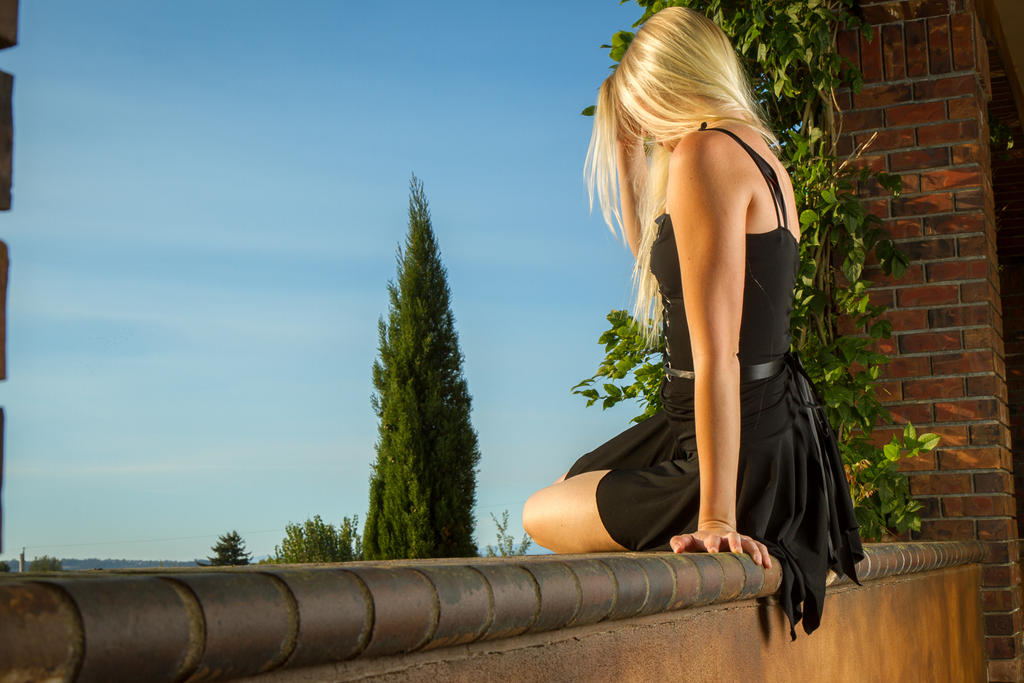 On the Edge by DanikaMilles