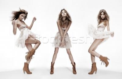 1200619 Stock-photo-triple-image-of-fashion-model- by DanikaMilles