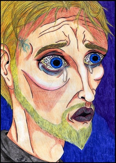 The Idiot Prince Myshkin by MelloRocks