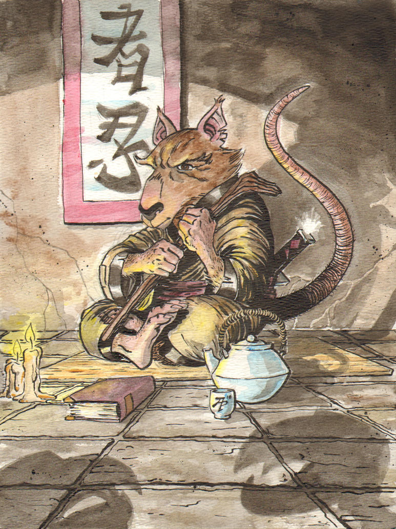 Master Splinter by AaronTP on DeviantArt
