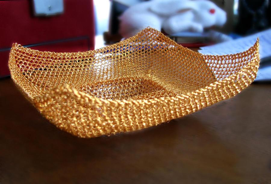 Wire Crochet Bowls Wire Center