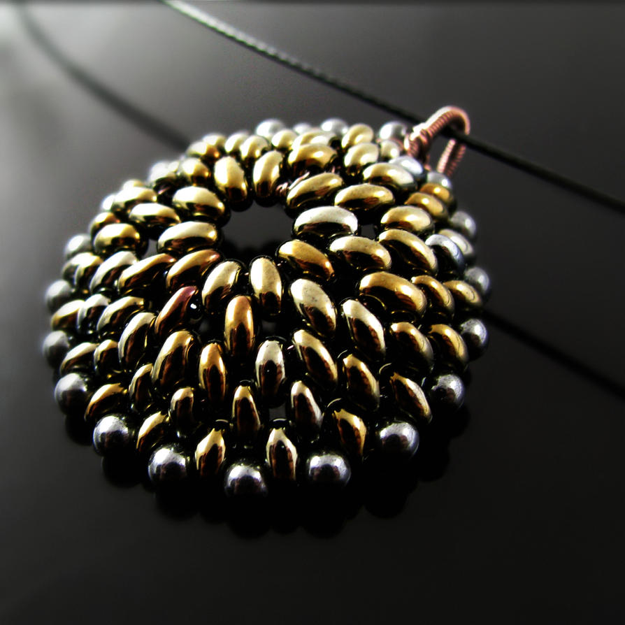 Beaded pendant metal reptile by catswire on deviantart beaded pendant metal reptile by catswire aloadofball Image collections