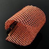 Wide wire knit cuff by CatsWire