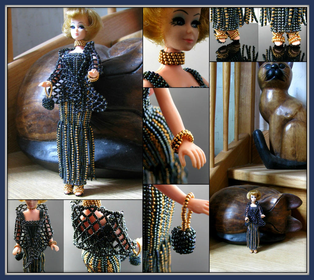 Beaded Dawn outfit