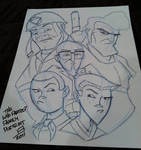 Con Sketch - The Venture Fam
