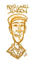 Funny Man Sketch by juniorbethyname
