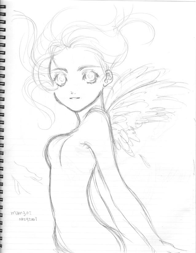 8-29-2001 angel by manzo