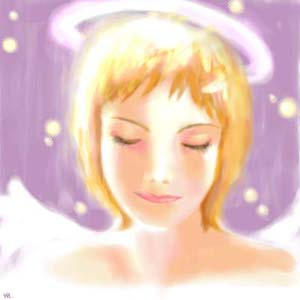 oekaki 56 angel by manzo