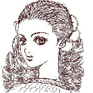 oekaki 93 girl by manzo