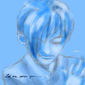 oekaki 97 blue by manzo