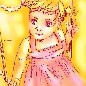 oekaki 99 baby girl by manzo