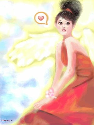 20050603 Angel in Red by manzo