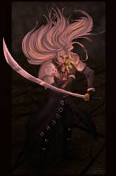 FF7 - Monsterous and Empty by Koorii