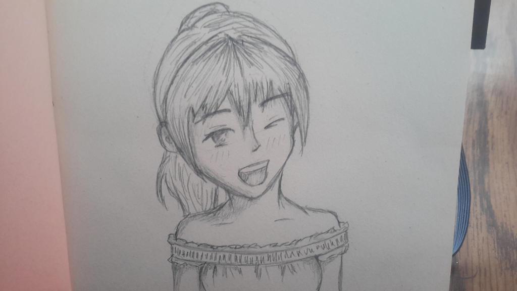 wink by girliearist