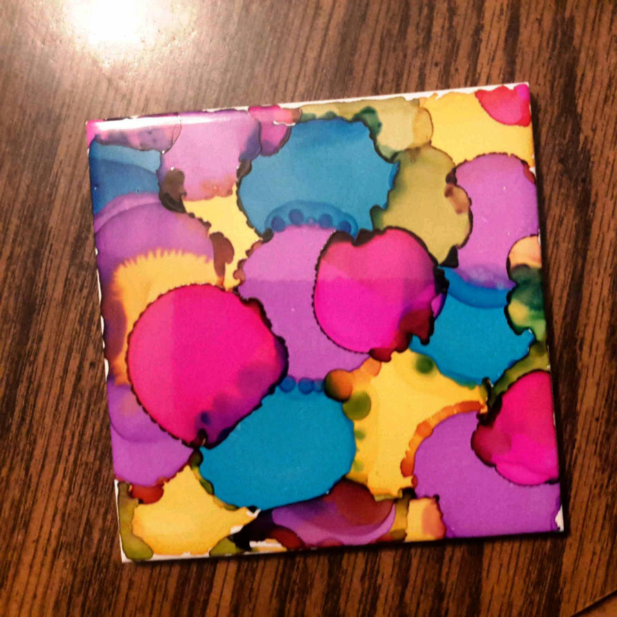 abstract coaster  by girliearist