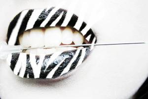 Zebra lips by Tekerror