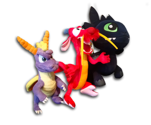 Gang of little dragons by Woriorh
