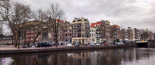 Amsterdam Ultrawide Wallpaper (21:9) by Woriorh