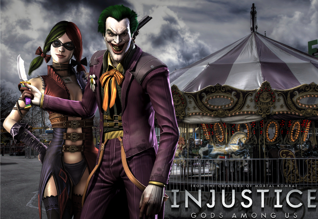 Injustice Joker X Harley Wallpaper By NerdyOwl299