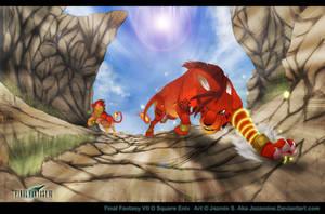 Red XIII by Jazamine