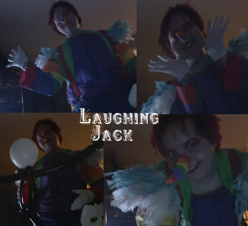 Ranboo Laffen Jeck - laughing Jack Cosplay by King-Candy