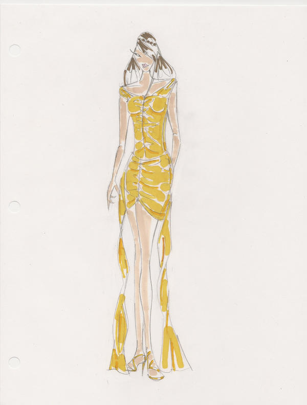 fashion sketch by fashionprotege on deviantart