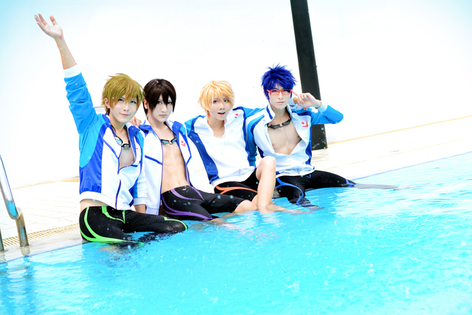 Iwatobi swim club by BaoziandHana