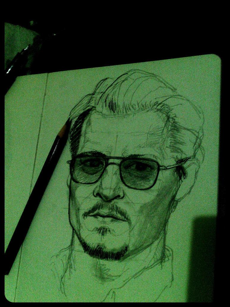 Johnny Depp Unfinished by AqilBeatDynamic
