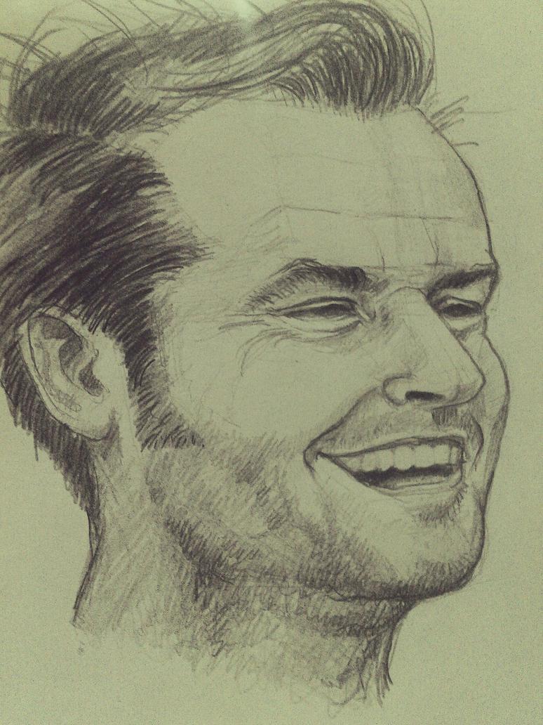 Jack Nicholson (Here's Johnny) by AqilBeatDynamic