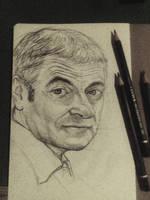 Rowan Atkinson Mr.bean by AqilBeatDynamic