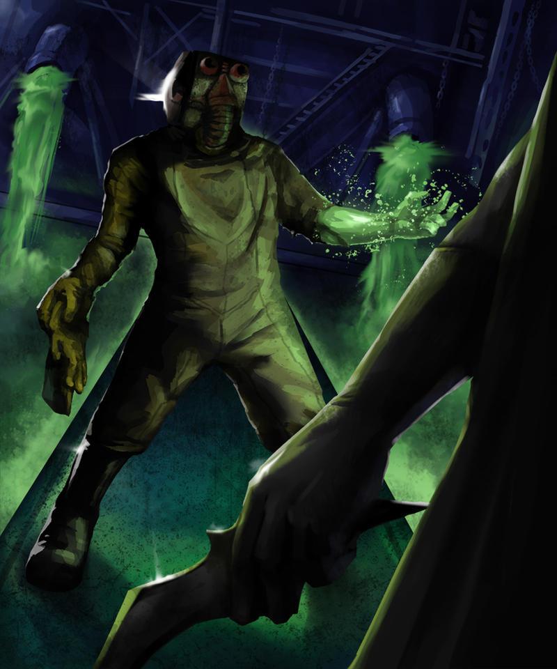 The Trial Of Professor Radium by DavidDeMendoza