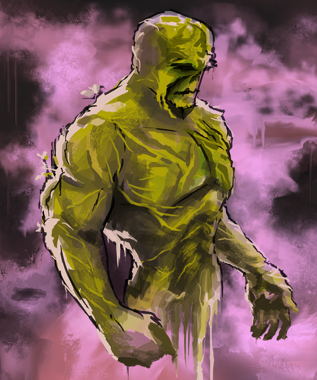 Swamp Thing by DavidDeMendoza