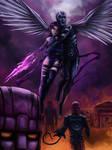 The Abduction Of Psylocke by DavidDeMendoza